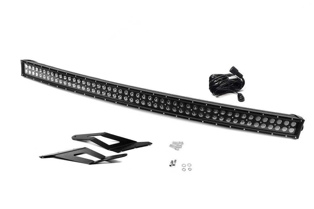 54/'/' Curved Led Light Bar For Chevrolet Ford Ranger Dodge Ram OffRoad  20//50/'/'